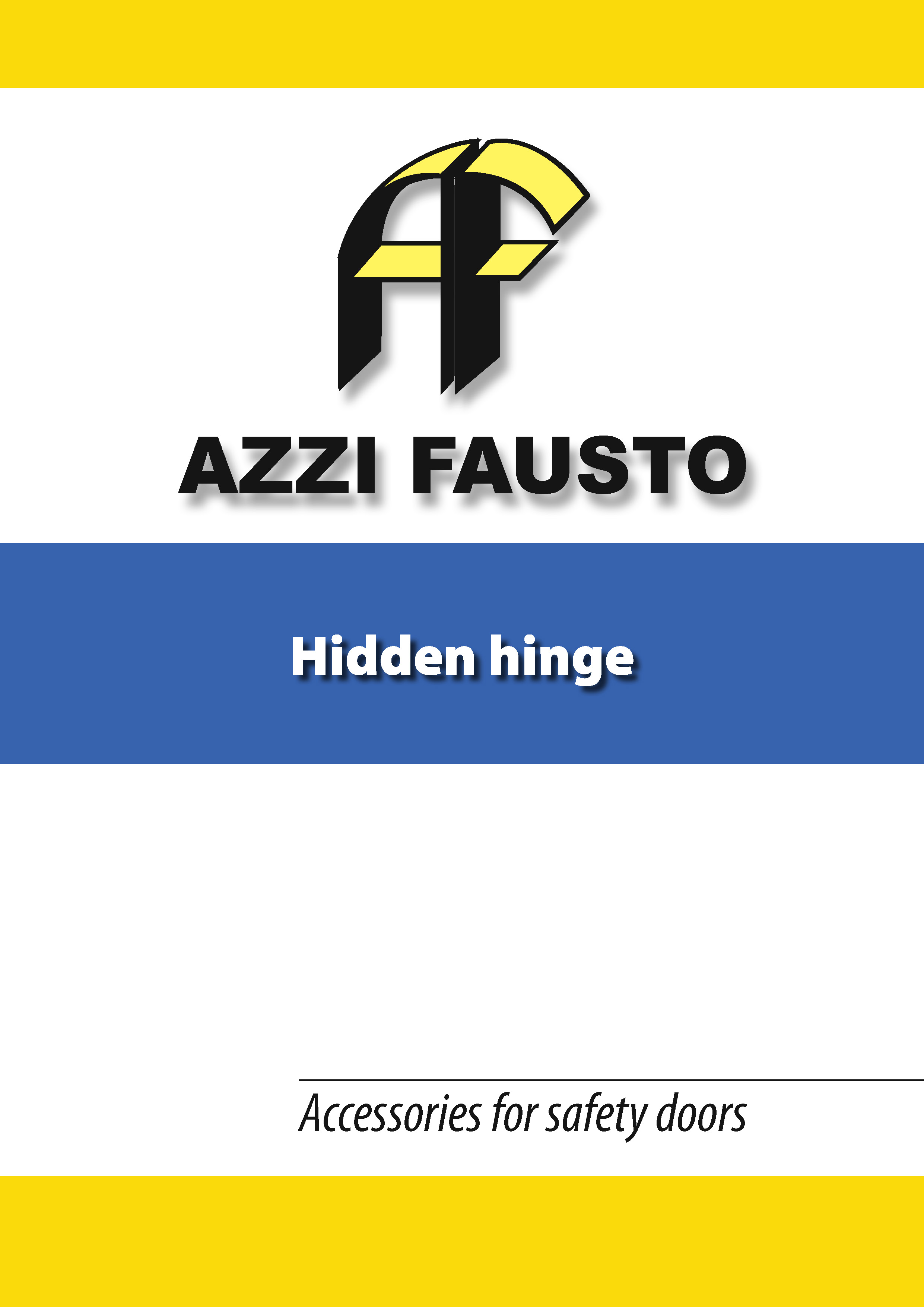 catalogo hidden hinge Pagina 01
